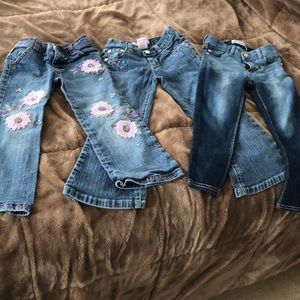 Jeans 3 pairs